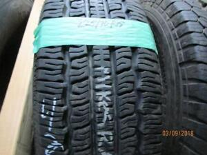 225/70R15 SINGLE ONLY USED CONTINENTAL A/S TIRE