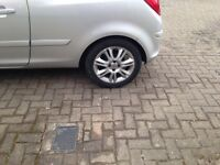 Corsa d alloys wheels Vauxhall