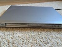 Silver Philips DVD player