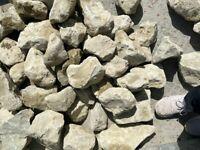 Kentish ragstone Rockery stones - 1 tonne bag