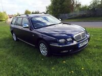 Rover 75 Tourer 2.0 CDT Connoisseur, ESTATE, NEW CLUTCH + MOT JULY 2017, BMW Chain driven engine!