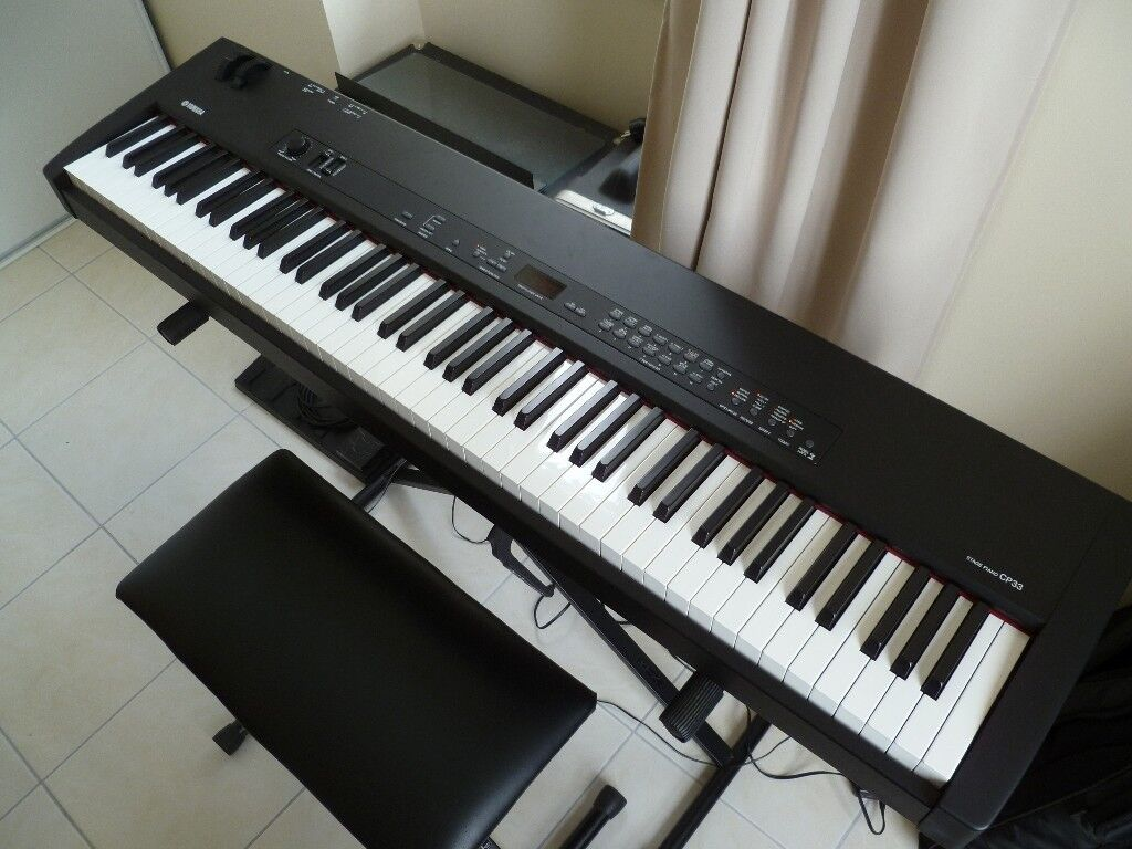 yamaha cp33 electric piano in cambridge cambridgeshire. Black Bedroom Furniture Sets. Home Design Ideas