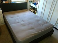 Double bed with mattress for sale - Good condition