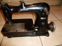 RARE Singer 62-40 Industrial Double needle chain stitch sewing machine