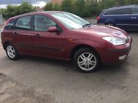 FULLY AUTOMATIC FORD FOCUS 1.6 PETROL-- ONLY DONE 35K -- FULL YEAR MOT / NO ADVISORY---