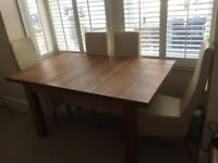 *** Solid Oak Extendable Dining Table - Good Condition ***
