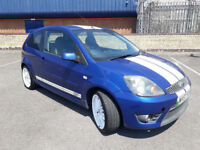 2007(57)FORD FIESTA 2.0 ST 150 MET BLUE,3DR,AIRCON,WHITE ALLOYS,CLEAN CAR,GREAT VALUE