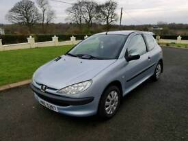 2004 Peugeot 206 1.1 Style FULL YEARS MOT!