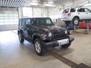 2013 Jeep Wrangler Unlimited SAHARA - AWD - INTÉRIEUR EN CUIR