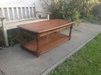 Large Ercol CoffeeTable Elm and Beech VGC