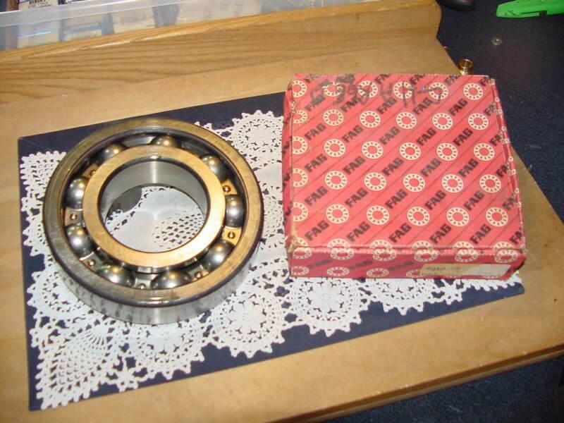 FAG Bearing 6319.C3 Radial/Deep Groove Bore, 95 mm ID, 200 mm OD, 45 mm Width