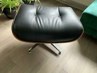 1970s Herman Miller Eames Lounge Ottoman Rosewood Leather footstool
