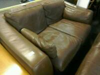 Incanto 2 Seater Leather Sofa #33479 £75