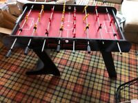 Junior Folding Table Football - in great condition as hardly used