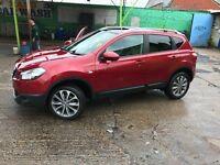 Nissan Qashqai 1.6 TEKNA 5dr Sat Nav 2012