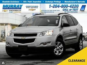 2010 Chevrolet Traverse 1LS *Remote Start, OnStar, Satellite Rad