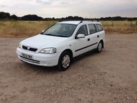 2003 VAUXHALL ASTRA DIESEL ESTATE 1.7 DTi 16V ENVOY 5 DOOR MANUAL 81K