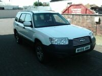 2006 56 SUBARU FORESTER 2.5 AWD AUTOMATIC ESTATE ** 12 MONTH MOT ** SERVICE HISTORY **