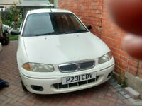 Rover 214i 1997, runs and drives, spares or repair