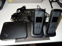 Siemens Gigaset E49H Twin Handset DECT Wireless Phone set