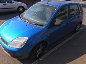 Ford Fiesta 1.4 diesel, Road Tax £30 per year