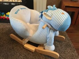 Baby rocking horse.
