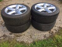 """20"""" Alloy wheels & tyres"""