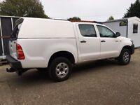 2013 Toyota Hilux HL2 2.5 D-4D 4WD Double Cab Pickup 63 Plate