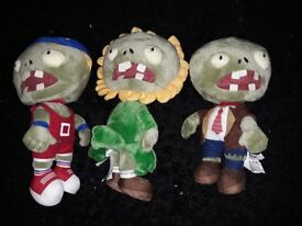 PLANTS VS ZOMBIES zombie teddys