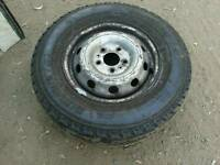 Rim and Tyre, Iveco Daily rim and new tyres