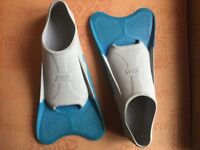 Zoggs swimmers training fins UK size 7 - 8