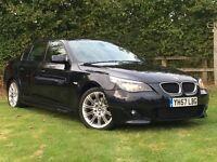 2007/57 BMW 520d M-Sport Auto - Professional Sat Nav, Full Leather, Full Service History.