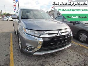 2016 Mitsubishi Outlander SE   ONE OWNER   AWD   7PASS   HEATED