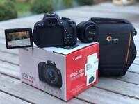 Canon 700D Camera + 50 ml lense - excellent condition