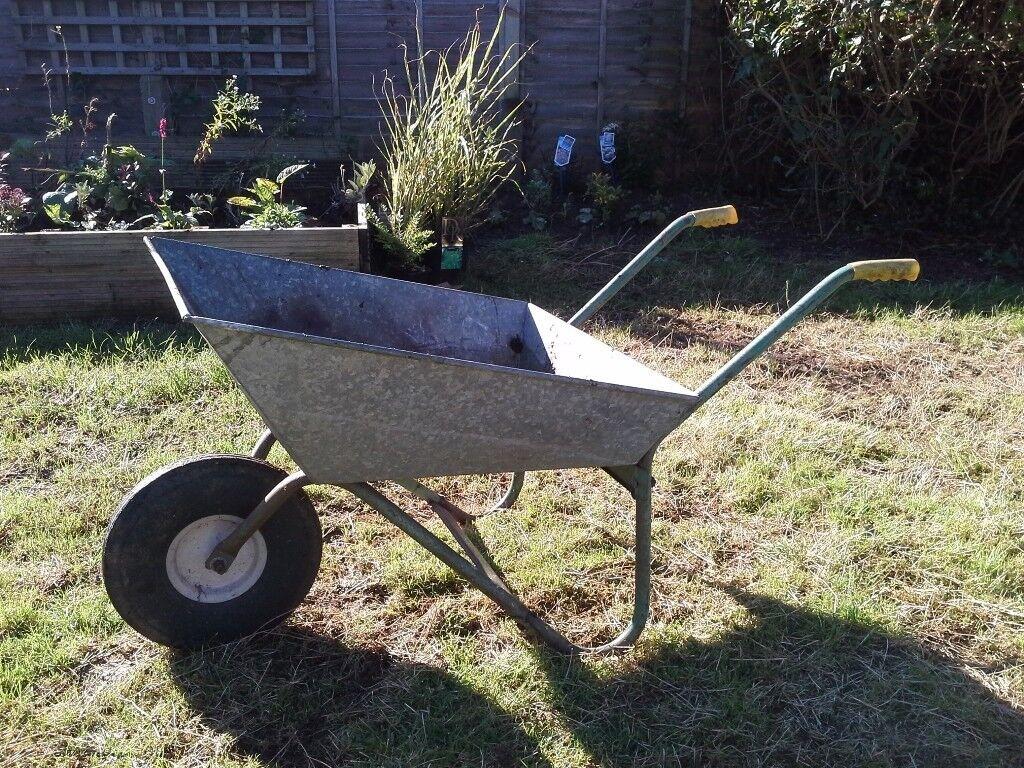 Wheelbarrow Galvanised.
