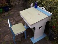 Vintage Child's Desk and Chair