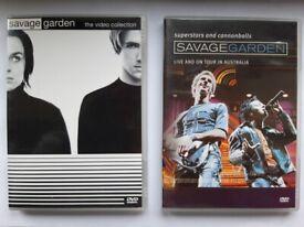 Savage Garden DVDs.