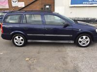 VAUXHALL ASTRA ESTATE, LOW MILES, LONG MOT DRIVES AMAZING QUICK SALE