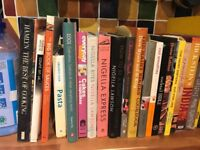 Job lot cookery books at least 40 nigella,jamie,gorden,hairy bikers etc All top condition
