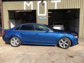 Audi A4 S Line TDI diesel 5 door