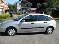 FORD FOCUS 1.6 S PEED PETROL ZETEC 5 DOOR HATCHBACK CHEAP CAR UNWANTED PART X TO CLEAR