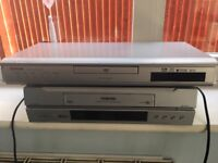 Toshiba DVD player and VCR