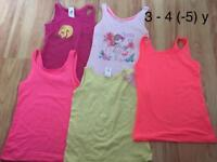 Girls summer vest