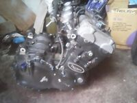 Triumph 955 engine complete with starter, alternator,coils and bodies