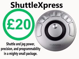 Contour Design ShuttleXpress Jog/Shuttle Controls for Video Editing/Adobe/Games/Music Apps/Win&Mac