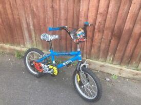 Boys hot wheels bike