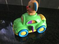 Fisher Price laugh and learn puppy learning car.
