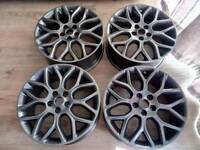 Ford focus zetec s alloys fully refurbished finished in gun metal
