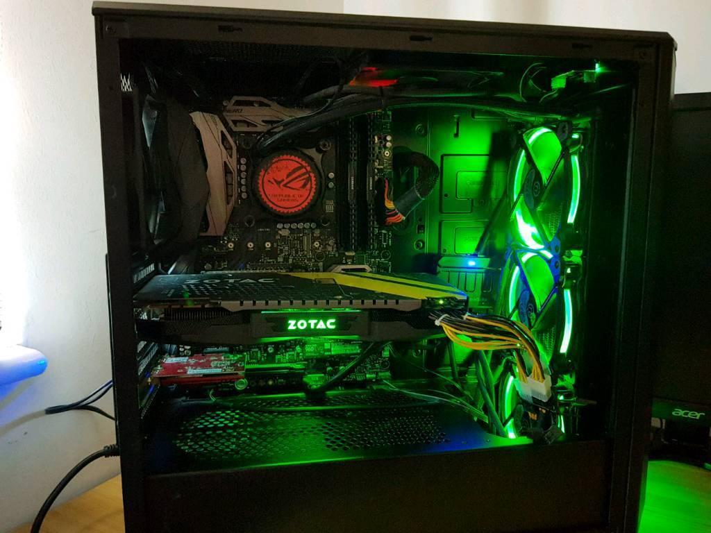 Custom build Gaming PC, Intel Core I7-6700K, GTX 1080, 16gb RAM | in  Peterborough, Cambridgeshire | Gumtree