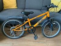 """Apollo 19"""" kids orange bike bicycle shimano age 6-9 years"""